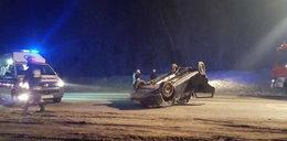 """Kolejny wypadek na """"drodze śmierci"""" pod Nowym Sączem"""