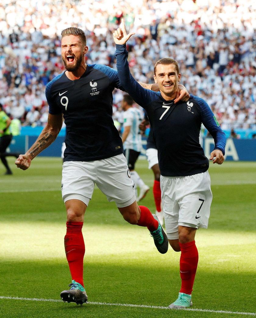 Antoine Griezmann i Olivier Giroud