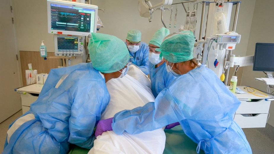 Koronawirus. Bardzo trudna sytuacja w Belgii