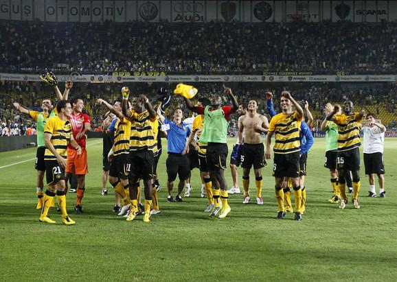 Radost fudbalera Jang bojsa uIstanbulu