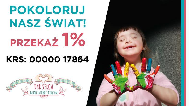 Wesprzyj Fundację Dar Serca, która już od 15 lat troszczy się o najmniejszych!