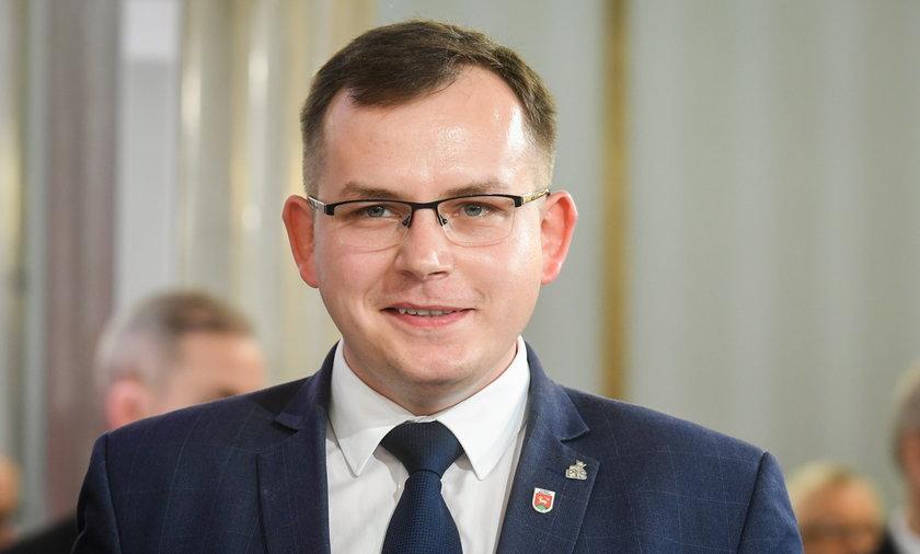 Paweł Rychlik, poseł PiS z Wielunia.