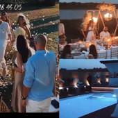 NEDOVIĆI SE VENČALI KAO U FILMOVIMA Ceremonija na LIVADI, mladenački sto kraj reke i LUKSUZ na sve strane /VIDEO/