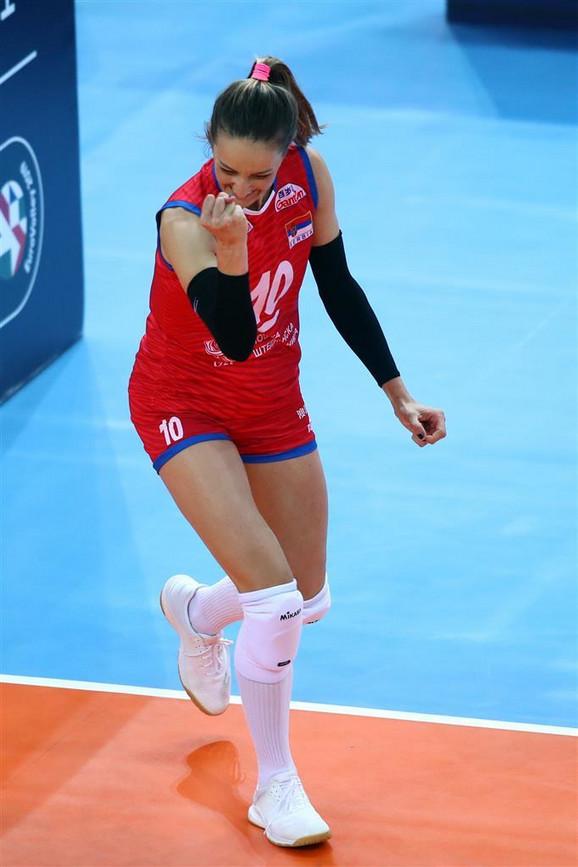 Ženska odbojkaška reprezentacija Srbije, Italije, Odbojkašice Srbije