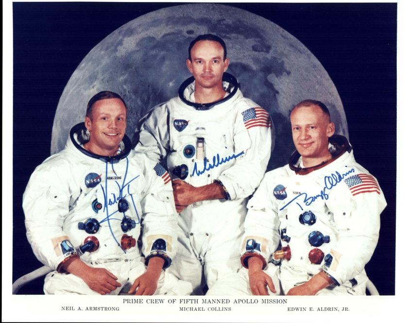 Członkowie misji Apollo 11