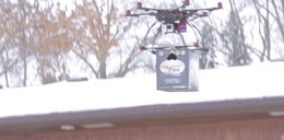 Dron dostarcza... skrzynkę piwa. Musisz to zobaczyć!
