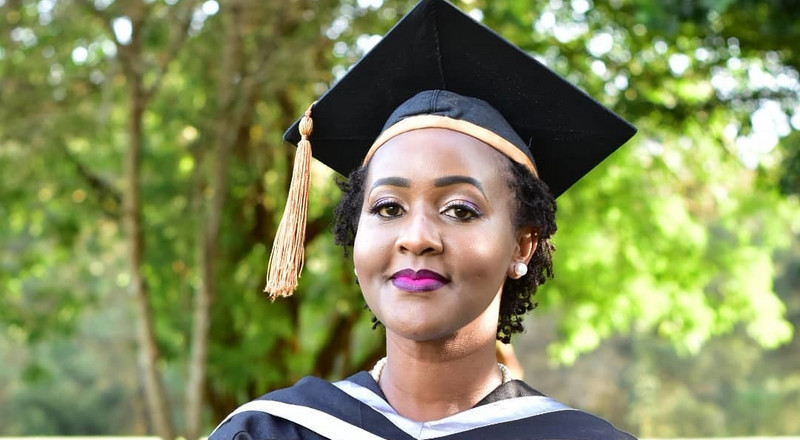 Ex-KTN reporter Carol Nderi over the moon as she graduates with second degree