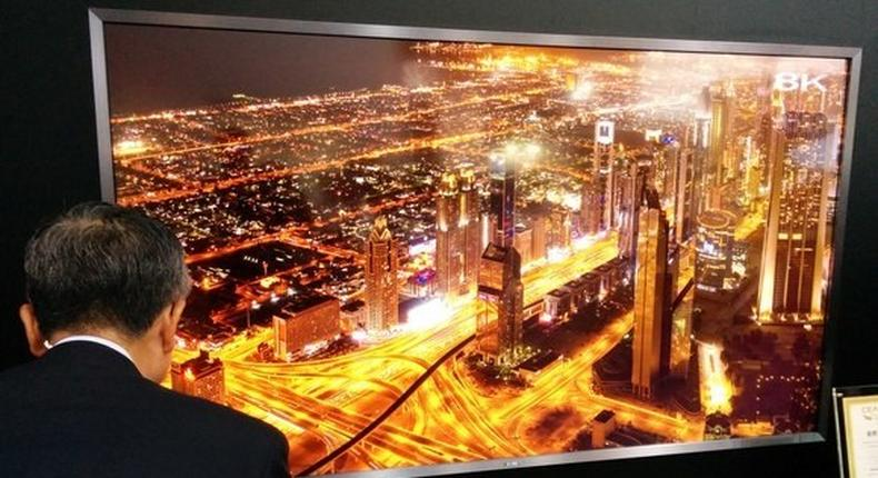 Sharp to sell the world's first 8K TV starting in October