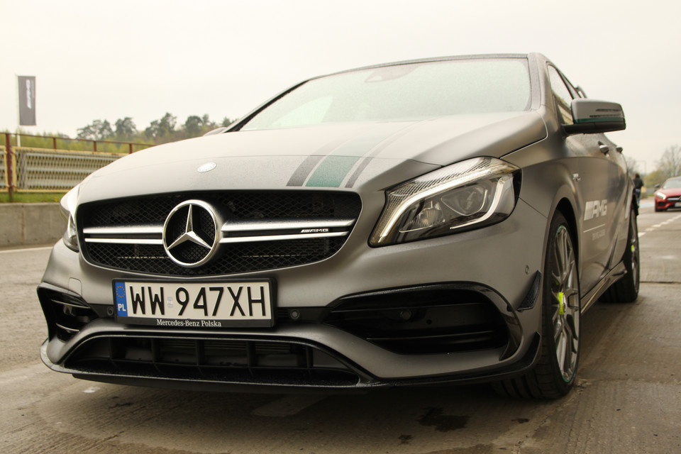 Mercedes A45 AMG Championship Edition