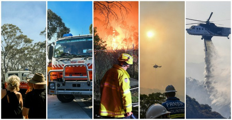 Požar Sidnej
