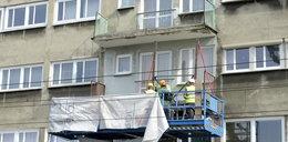 W końcu zajęli się balkonami