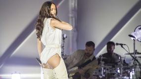 Seksowna Rihanna na koncercie
