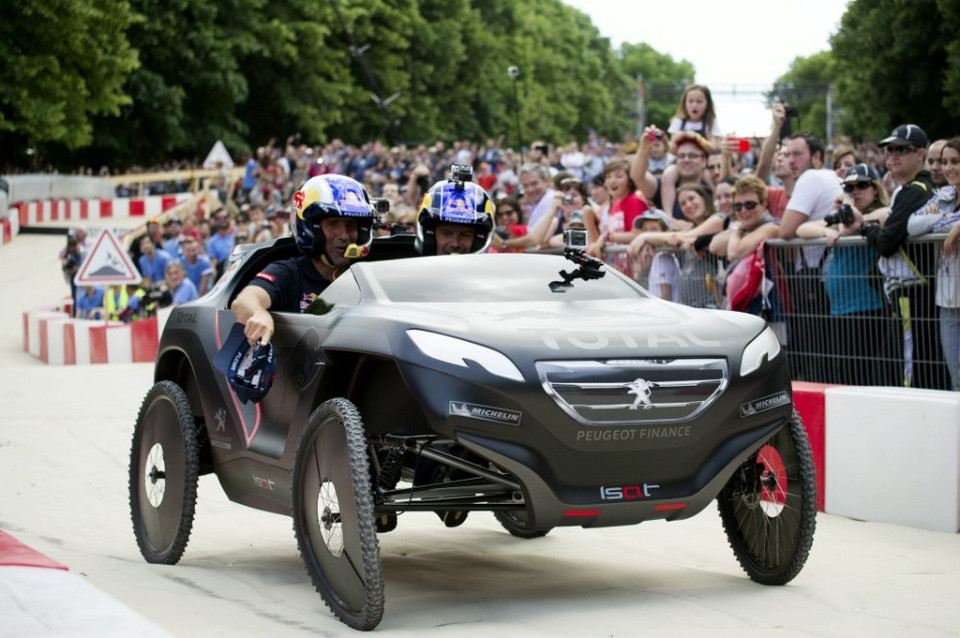 Stephane Peterhansel w Team Peugeot-Total