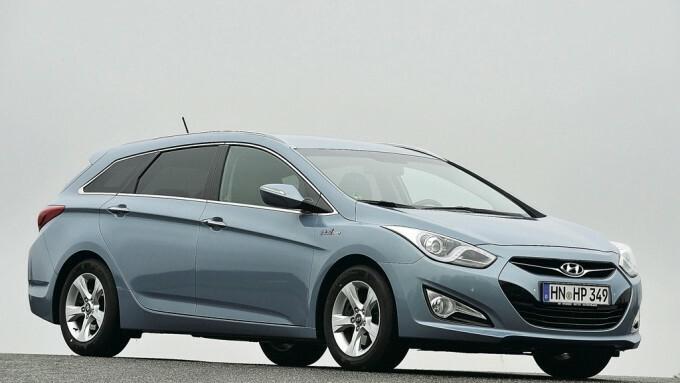 Hyundai i 40 opel insignia