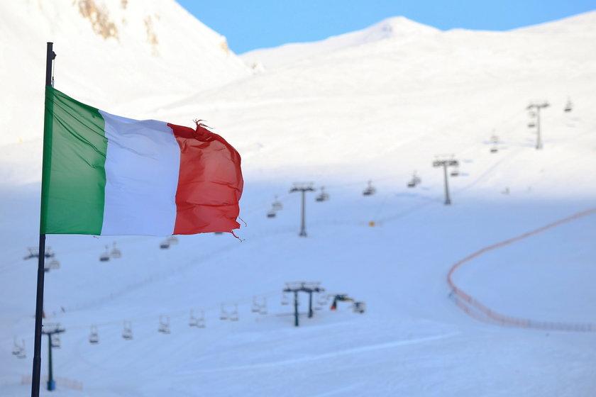 Włochy. Narciarze muszą poczekać do marca