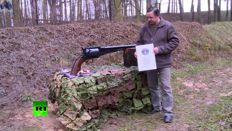 Ryszard Tobys to pasjonat rusznikarstwa mieszkający w Piotrowie Drugim w województwie wielkopolskim