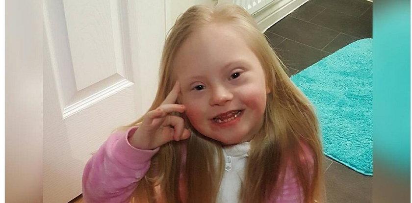 Niezwykła 6-letnia modelka. Realizuje marzenia mimo choroby