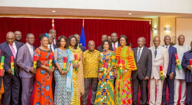 Nana Addo reduces ministries from 36 to 29