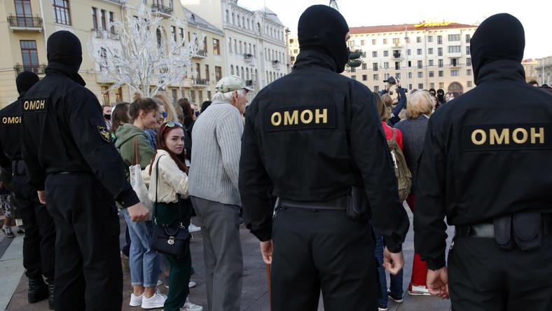 Funkcjinariusze OMON