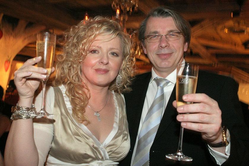 Magda Gessler i Waldemar Kozerawski