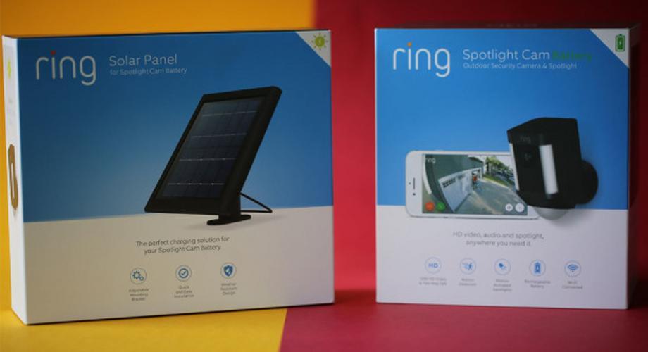 Ring Spotlight im Test: Security-Kamera mit WLAN & Solar