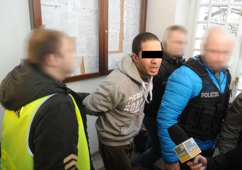 Zabił 21-latka w Ełku. Tłumaczy się ze łzami w oczach