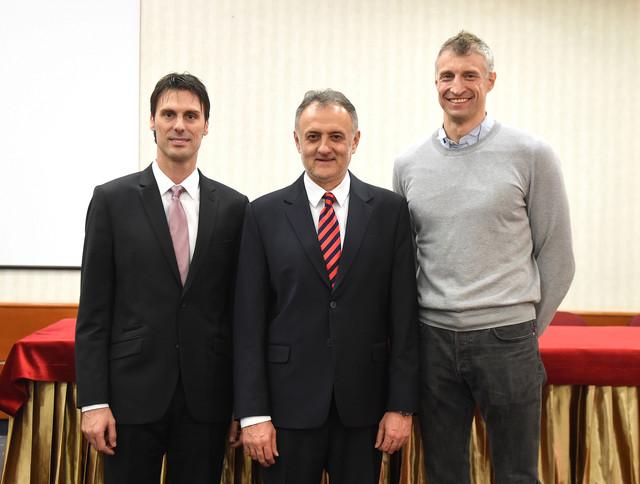 Ivan Knežević, Zoran Gajić i Ivan Miljković