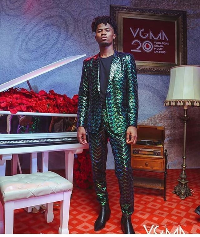 Ghanaian rapper, Kwesi Arthur's look at the 2019 VGMA