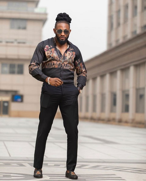 Nigerian reality TV star and actor, Uti Nwachukwu had earlier come out to react to the rape allegations levelled against him. [Instagram/SirUti]
