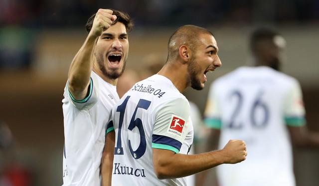 Serdar i Kutucu na utakmici protiv Paderborna