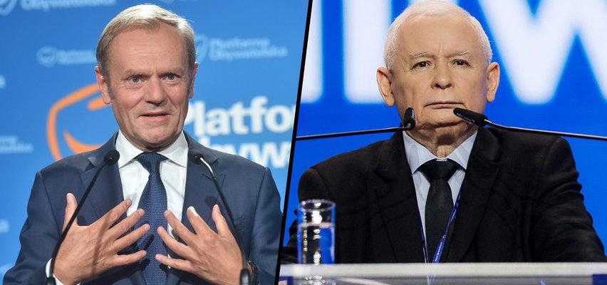Tusk ostro atakuje Kaczyńskiego. Wytyka mu miliardy euro, obsesję i głupią wojnę z Zachodem