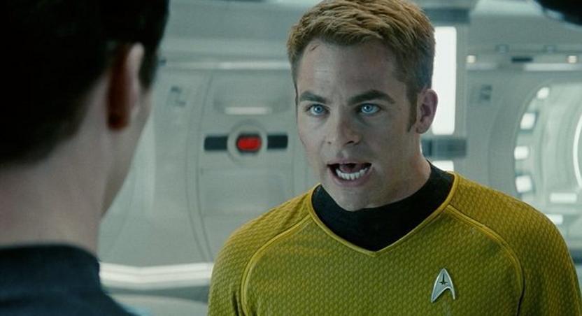 'Star Trek's' Captain Kirk writes an autobiography.