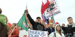 Warszawiacy manifestują przeciwko imigrantom