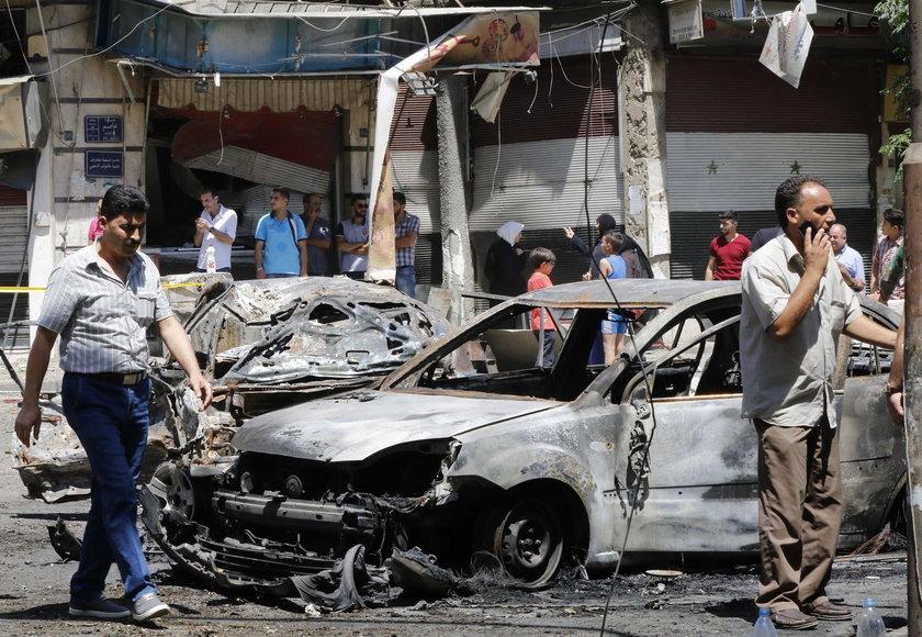 Samobójczy zamach w Syrii