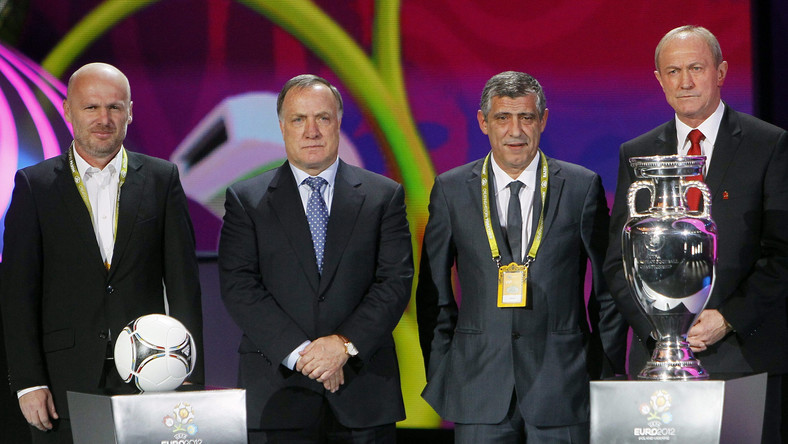 Michal Bilek (pierwszy z lewej)