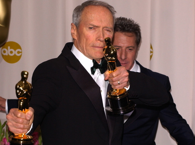 Clint Eastwood nagrodzony dwoma Oscarami w 2005 roku