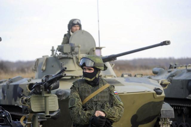 Jedna od ranijih vojnih vežbi sa Rusima