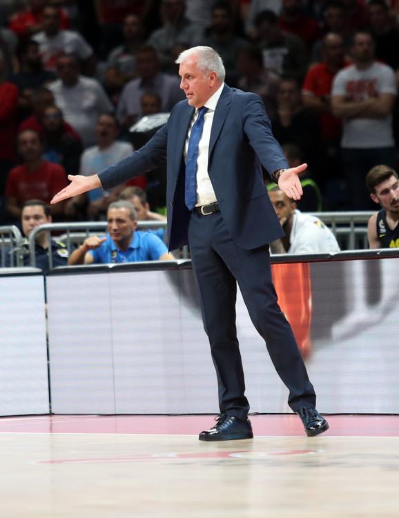 Željko Obradović je imao šta da kaže izabranicima