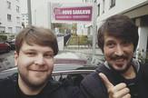 Krsto Lazarević i Danijel Majić