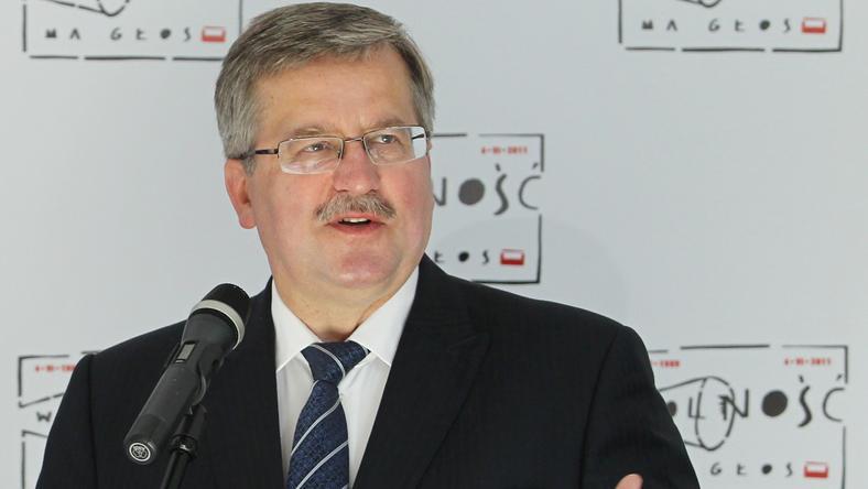 Bronisław Komorowski, fot. PAP/Radek Pietruszka