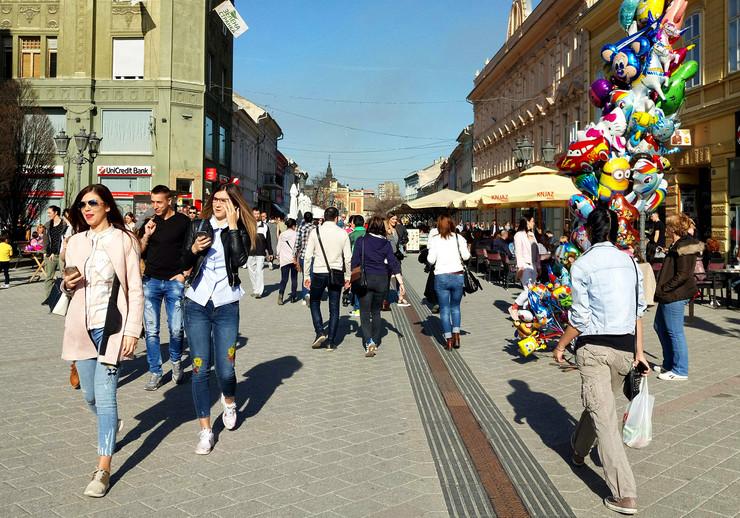 Lepo vreme Novi Sad proleće