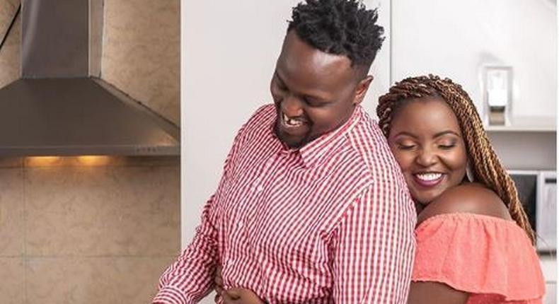 DJ GG and his wife Jasmine Macharia