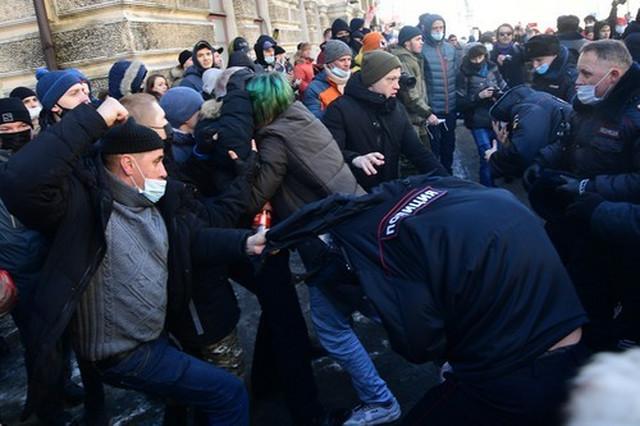 Protest Rusija Navaljni