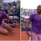 PUK'O MU FILM! Nadal besneo tokom finala sa Đokovićem, emocije pokuljale iz njega, sudija nije znao šta da mu kaže! /VIDEO/