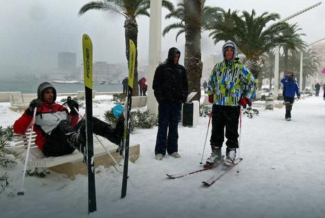 Skijanje u Splitu