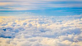 Z głową ponad chmurami. Zobacz niezwykłe zdjęcie szkockiego nieba