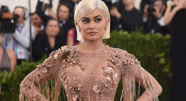 7. Kylie Jenner