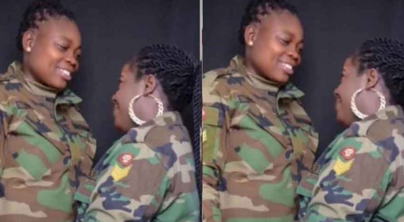 Ghanaian lesbian soldier reportedly detained as she faces court-martial after wedding