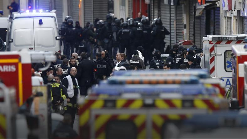 FRANCE PARIS ATTACKS (Police operations after Paris attacks)