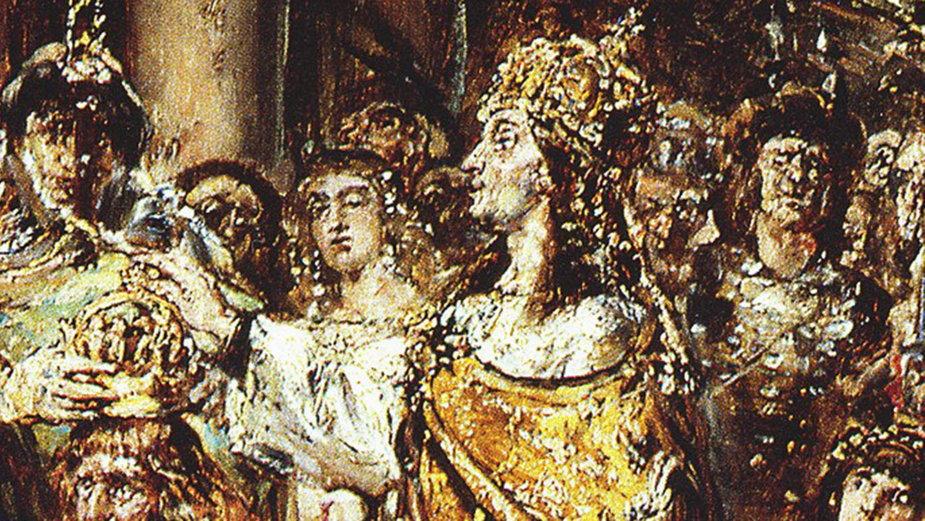 Bezprym (drugi od lewej)